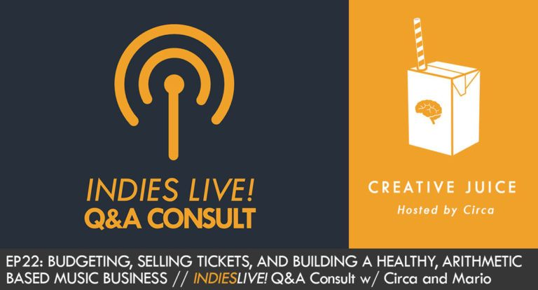 Music Marketing, Music Business, Music Education, Indies Live Q/A, Indepreneur, Indepreneur Podcast, Creative Juice Podcast, Kyle Lemaire, Music industry questions