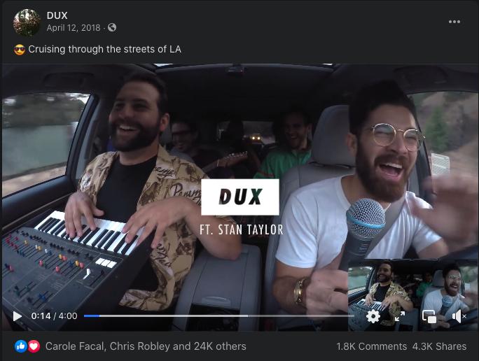 music ad
